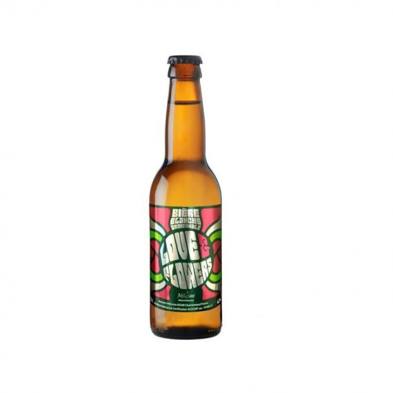 Bière blanche - LOVE AND FLOWERS - 0.33L