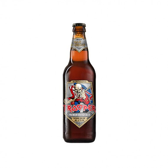 Bière blonde - ROBINSONS TROOPER IRON MAIDEN 0,50L