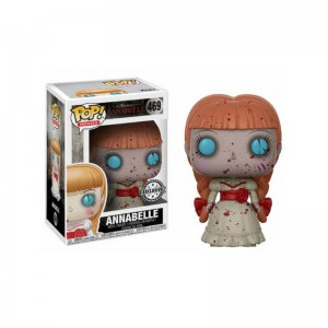 Figurine The Conjuring - Annabelle Bloody Exclusive Pop 10cm