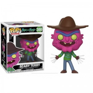 Figurine Rick and Morty - Scarry Terry Pop 10cm