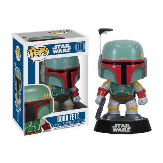 Figurine Star Wars - Boba Fett Pop 10cm