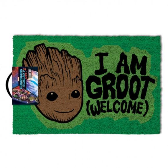 """Paillasson """"Welcome I Am Groot"""" - Les Gardiens de la Galaxie"""