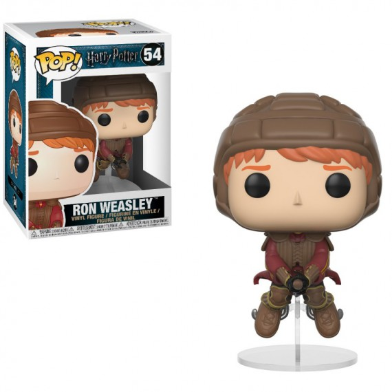 Figurine POP Harry Potter - Ron sur balai volant