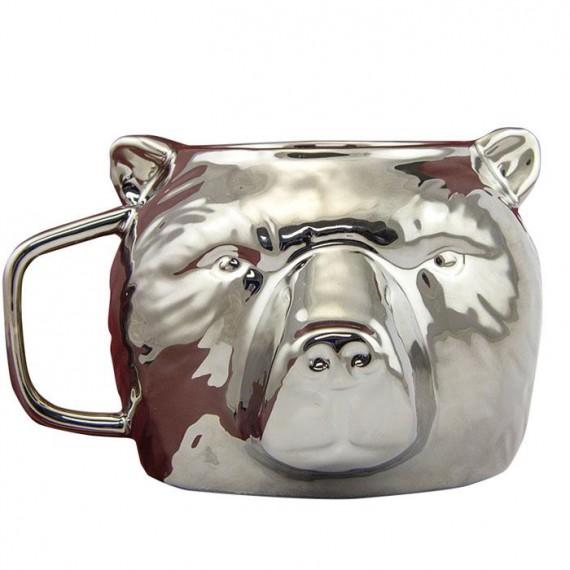 Mug Ours argenté