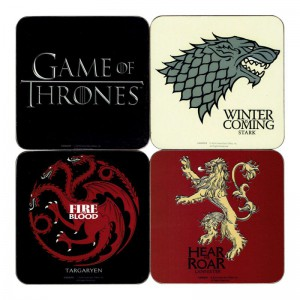 Sous verres Game of Thrones
