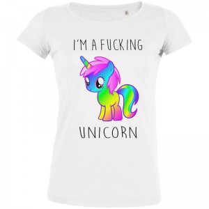 Tshirt I AM Fucking Unicorn