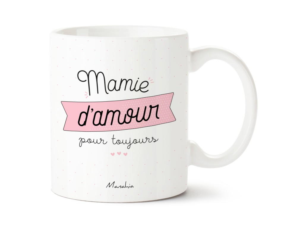 mug mamie d 39 amour pour toujours commentseruiner. Black Bedroom Furniture Sets. Home Design Ideas