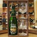 Coffret cadeau KARMELIET - Caisse bois 0,75cl + 2 verres