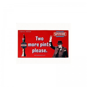 Tapis de bar Spitfire - Two more pints