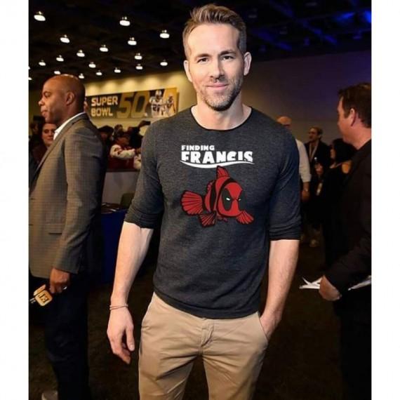 Tshirt Deadpool - Finding Francis