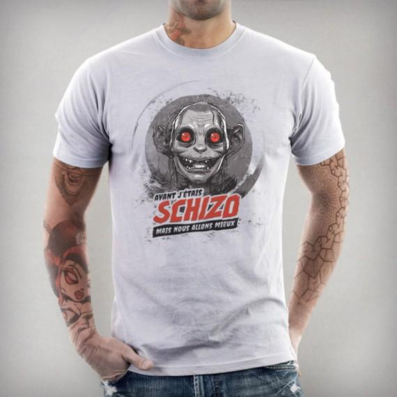 Tshirt Schizo - Gollum