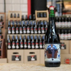 Bière brune - OBAMA HOPE 0.33L
