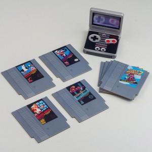 Dessous de Verre Cartouches NES