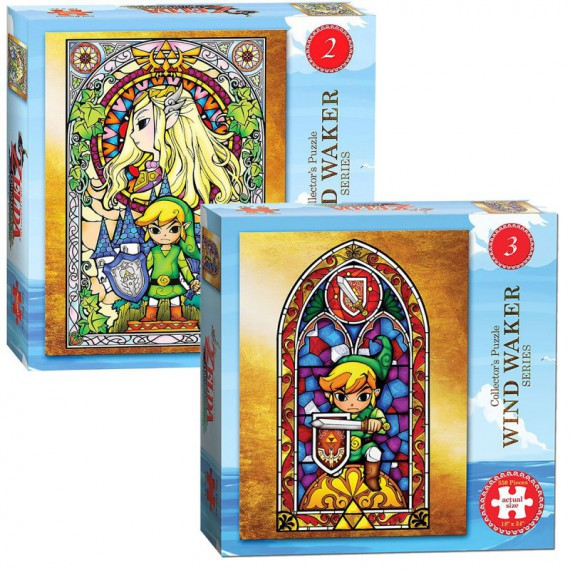 Puzzle 550pcs The Legend of Zelda Wind Waker