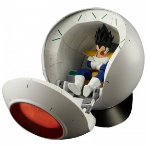 Figurine Dragon Ball - Spacecraft Pod - Saiyan Vegeta