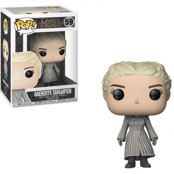 Figurine POP Game Of Thrones Daenerys White Coat