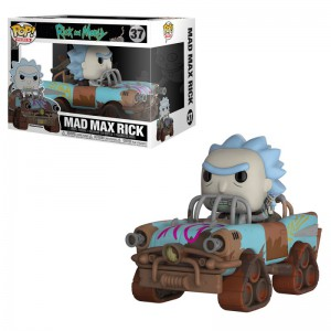Figurine Pop ! Rick & Morty - Mad Max Rick