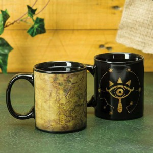 Mug Thermoréactif Legend of Zelda Breath of the Wild - Sheikah Eye