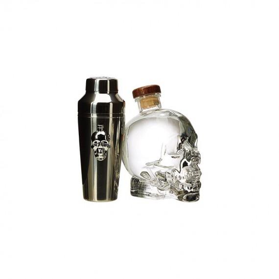 Vodka - CRYSTAL HEAD COFFRET SHAKER 0.70L
