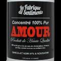 Sentiments en boîtes - Amour noir & Chocolat