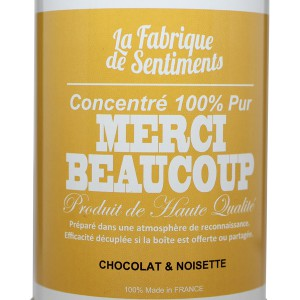 "Chocolats ""Merci Beaucoup"""