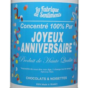 Chocolats Joyeux Anniversaire