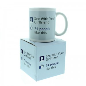 Mug statut Facebook - Sex with your girlfriend