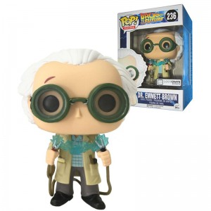 Figurine POP exclusive - Doc Retour Vers Le Futur