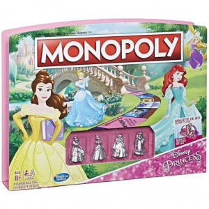 Monopoly édition Princesses Disney