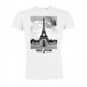 Tshirt Dark Vador - Tour Eiffel & étoile noire