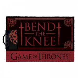 Paillasson Game of Thrones - Bend The Knee - Targaryen
