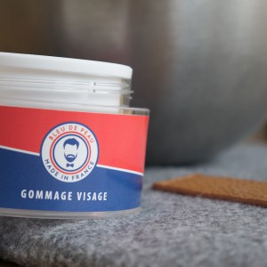 Gommage visage pour homme - Made in France