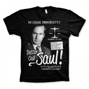 T-shirt Better Call Saul Saul Goodman