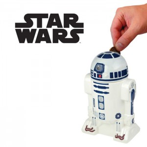 Tirelire Star Wars R2-D2