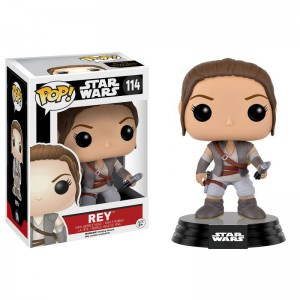 Bobble Head POP Star Wars EP7 Rey