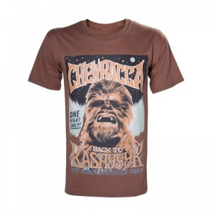 T-Shirt Homme Chewbacca Back to Kashyyyk - Star Wars