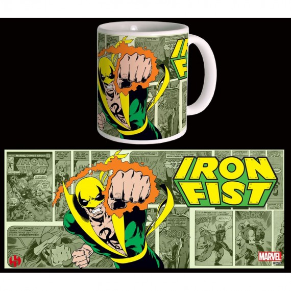 Mug rétro Marvel - Iron Fist
