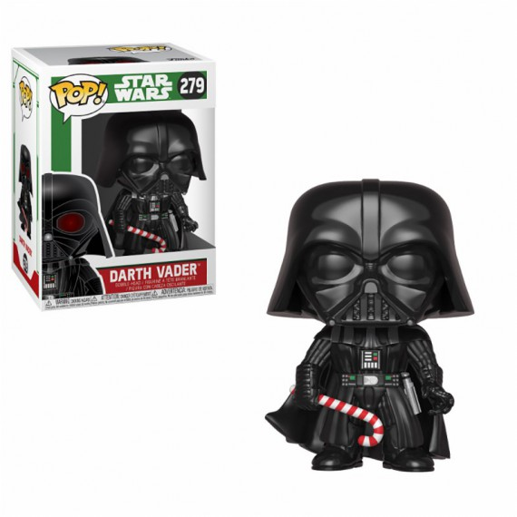 Figurine Pop Star Wars - Dark Vador fête Noël