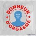 Préservatif Donneur d'orgasme - à personnaliser