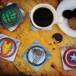 Sous verres BD Marvel Comics