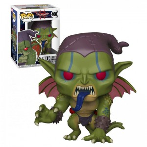 Figurine Marvel - Animated Spider-Man Green Goblin Pop 10cm