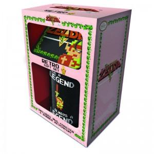 Coffret Cadeau Zelda Retro