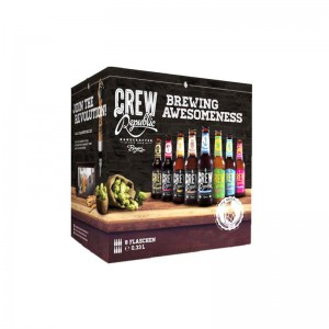BREWING AWESOMENESS COFFRET 8 * 33 CL