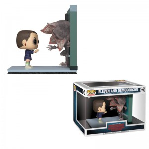 Figurine POP Movie Moments Stranger Things Eleven and Demogorgon