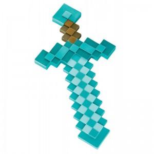 Épée en plastique Minecraft