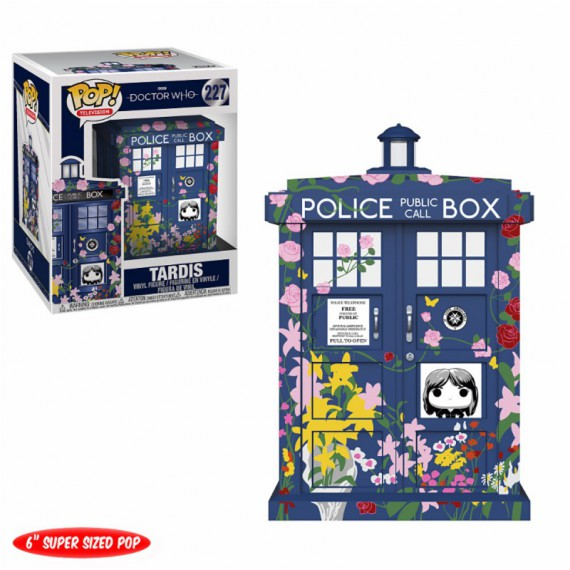 Figurine Pop! Doctor Who Tardis
