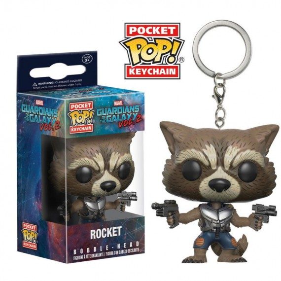 Figurine POP Les Gardiens de la Galaxie Vol.2 - Rocket Racoon