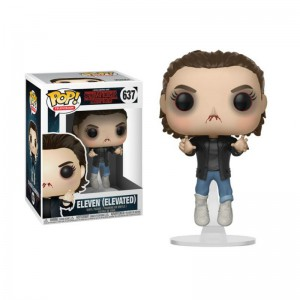 Figurine POP Stranger Things - Eleven dans les airs - 10 cm