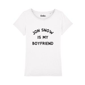 T-shirt femme - Jon snow is my boyfriend