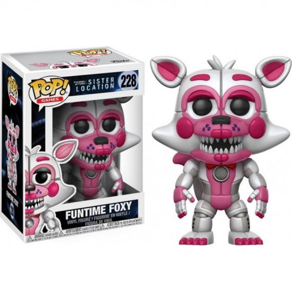 Figurine Five Nights at Freddy's - Funtime Foxy Pop 10cm